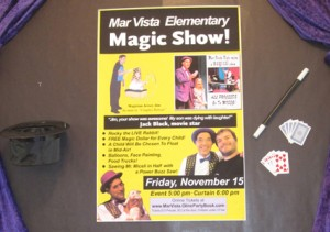 Magic Show Fundraiser Poster