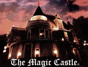 World Famous Magic Castle where Jersey Jim the magician wows them