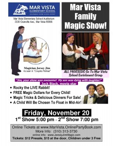 Magic Show School Fundraiser