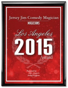 los angeles award magician