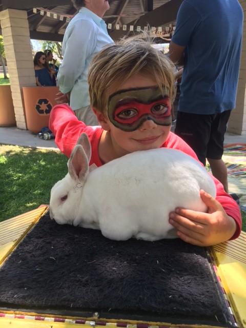 Rocky The Rabbit Jersey Jims Magic Show