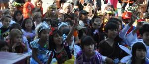 School Kids Enjoying Jersey Jim's Halloween Magic Show